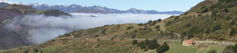 Nieblas en el Puerto de San Lorenzo