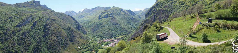 Valle de Somiedo desde el mirador de Aguino
