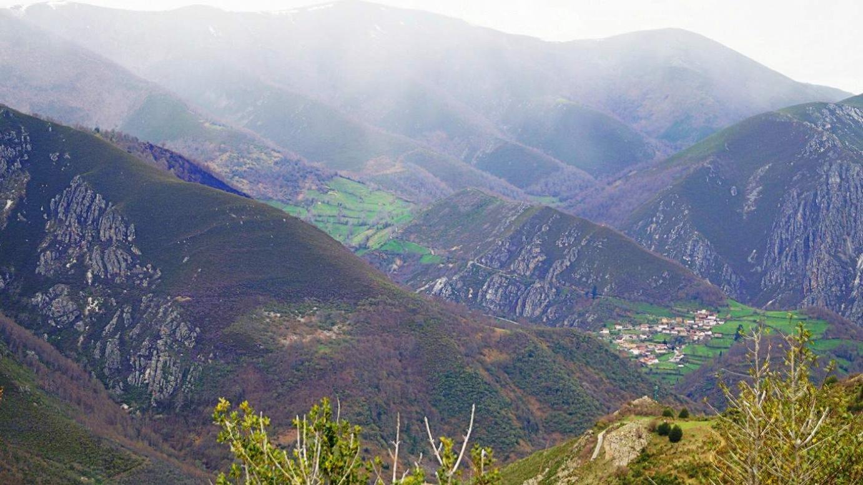 Rebollada, valle de Pigüeña
