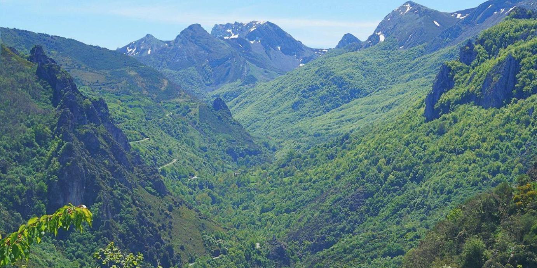 Valle de Sousas desde la collada de Aguino
